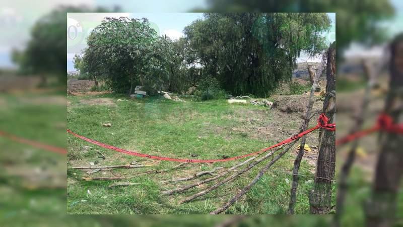 Encuentran cadáver al norte de Morelia
