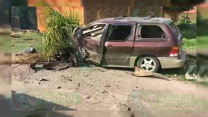Balacera en sepelio deja cuatro muertos y dos heridos en Salvatierra, Guanajuato