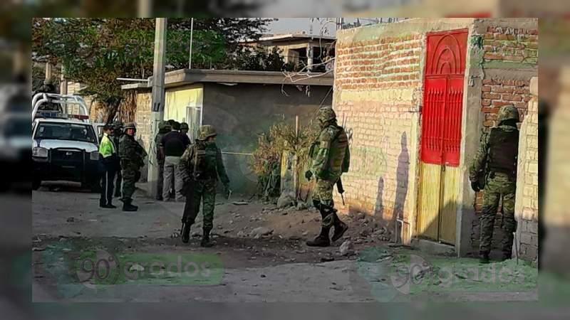 Matan a tres personas dentro de una vivienda en Celaya, Guanajuato