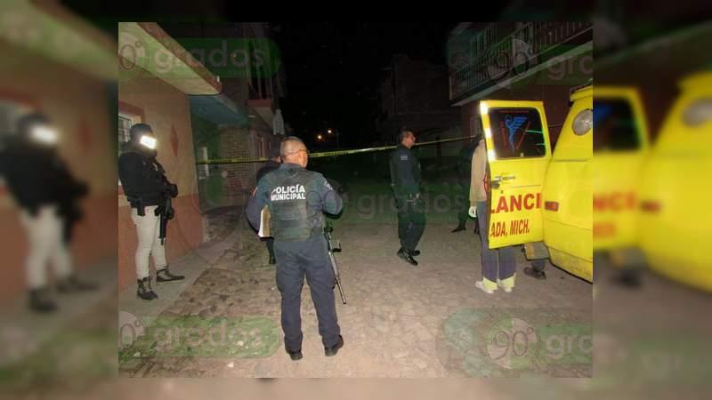 En su propia casa balean y matan a hombre en Zamora, Michoacán