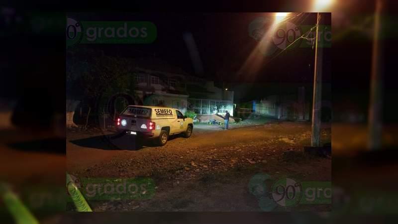 Asesinan a un hombre que se embriagaba en calles de Zamora, Michoacán
