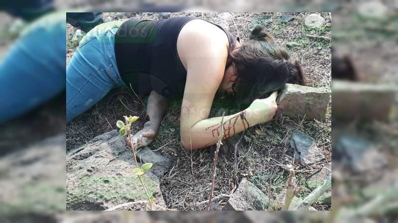 Asesinan a una mujer en Apaseo el Grande, Guanajuato