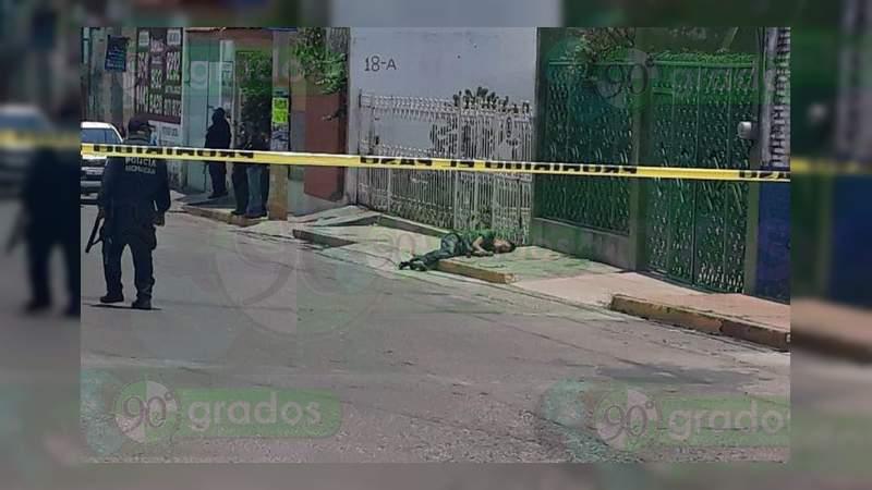 """Asesinan a """"El Camarón"""" en La Piedad, Michoacán"""