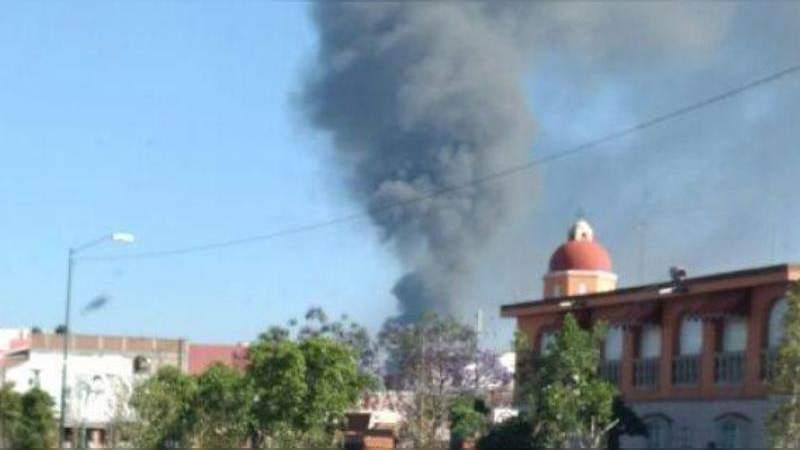 Se registra incendio en Casa del Estudiante en Morelia