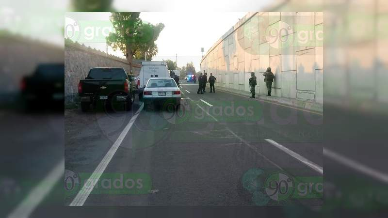 Localizan cadáver y narcomensaje en Apaseo el Grande, Guanajuato