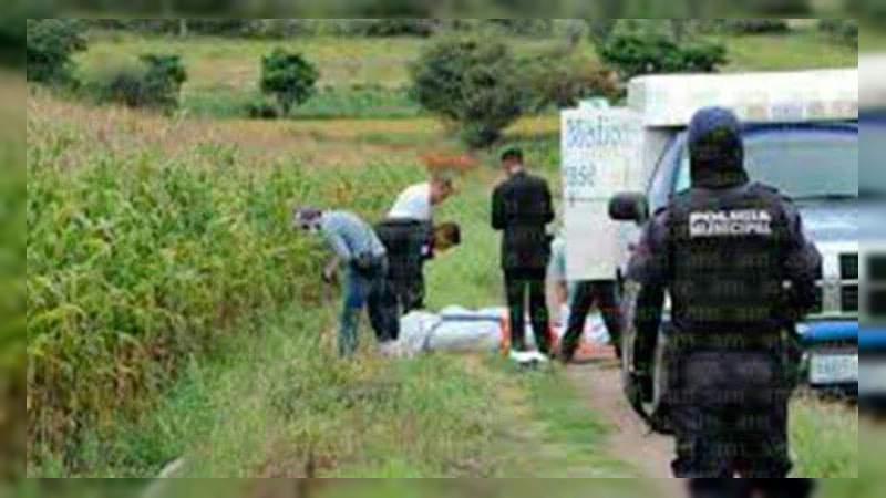 Putrefacto, hallan un cadáver en camino de tierra en Celaya, Guanajuato