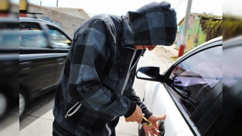 6.5 autos fueron robados cada día en Morelia, en los primeros cuatro meses del año: SESNSP