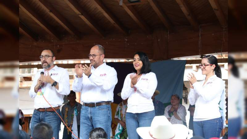 Eligen Cherán y Santa Cruz Tanaco sus nuevas autoridades comunales