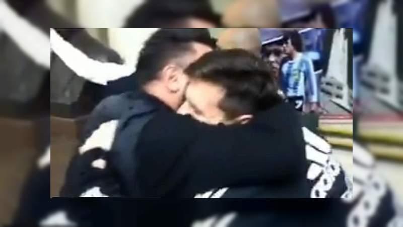 Messi y Mohamed se reencuentran