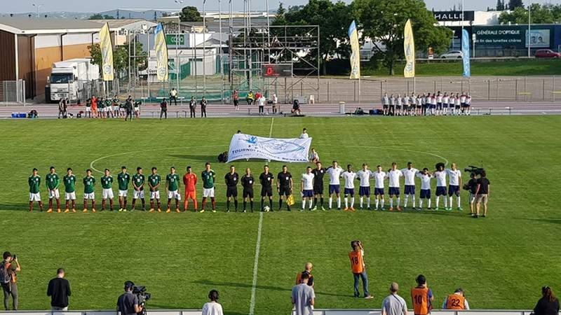 México empata con Inglaterra en el Torneo Esperanzas de Toulon
