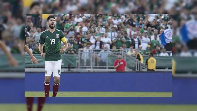 Oribe Peralta anuncia su retiro de la Selección Mexicana