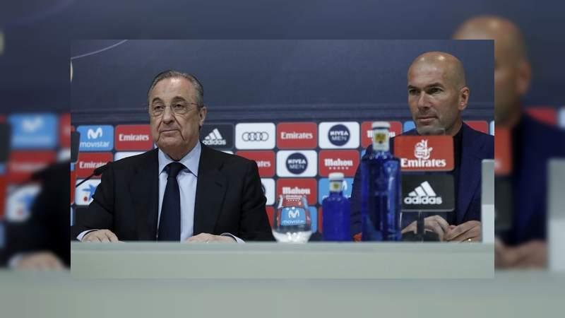 Zinedine Zidane dejó de ser el entrenador del Real Madrid
