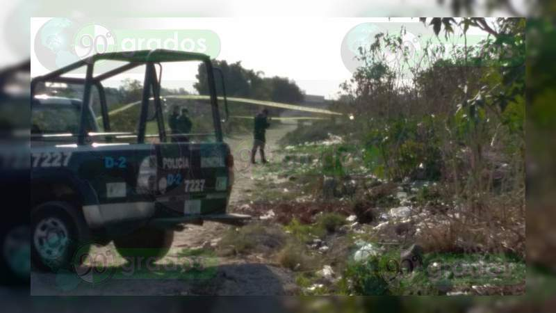 Encuentran un cadáver calcinado en Celaya, Guanajuato