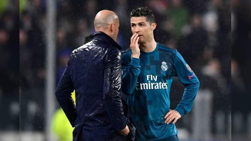 CR7 le envía un conmovedor mensaje a Zidane