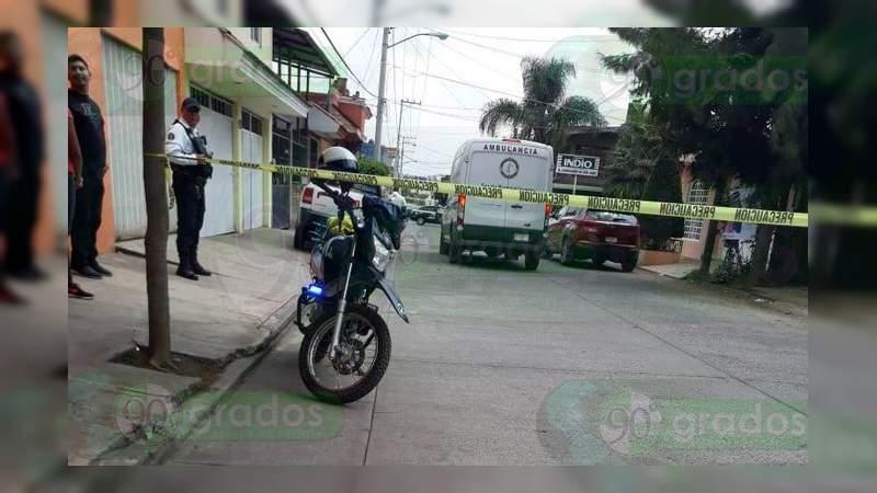 Excarcelado es asesinado en Uruapan, Michoacán