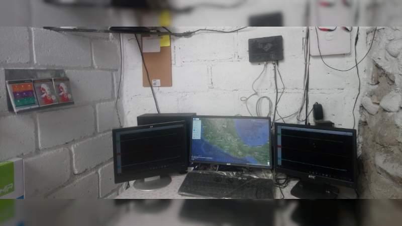Instalan Centro de Enlace Sísmico en Zitácuaro, Michoacán