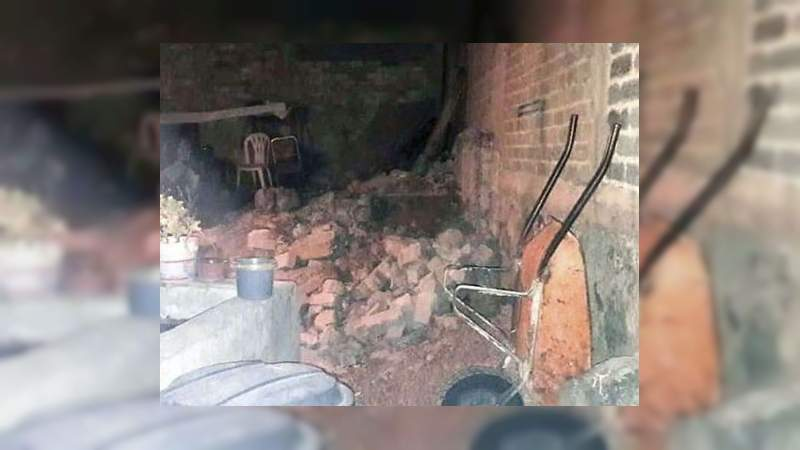 Tras 22 años, hallan a su mamá en las paredes de su casa en Xochimilco, en Ciudad de México