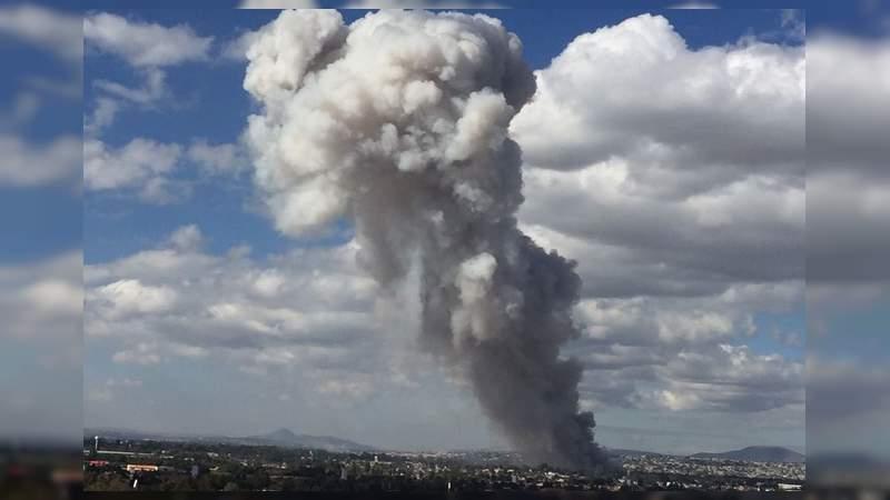 Siete muertos tras otra explosión de pirotecnia en Tultepec, Estado de México