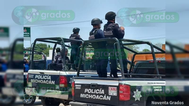 Balean a cuentahabiente en Morelia, Michoacán, le quitan 100 mp