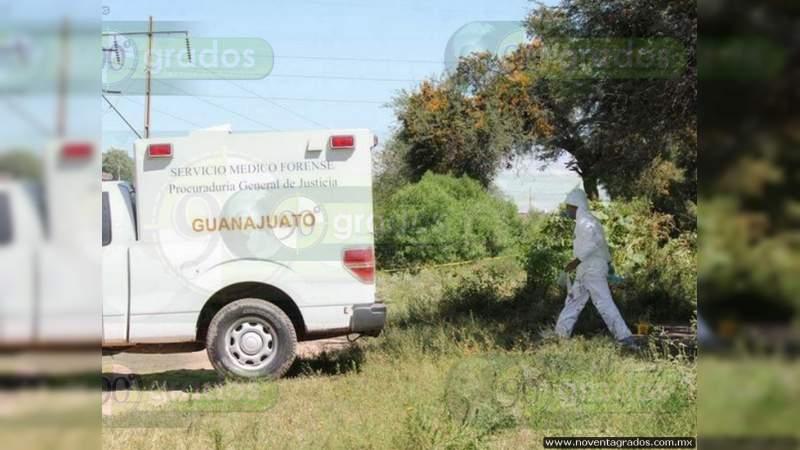 Dejan a ejecutado en terracería junto a la Tarimoro - Acámbaro, en Guanajuato