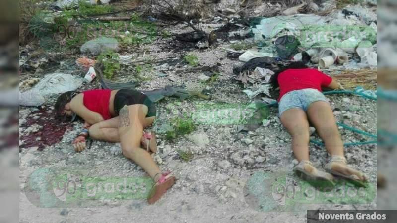 Identifican a una de las jóvenes ejecutadas en Cancún, Quintana Roo