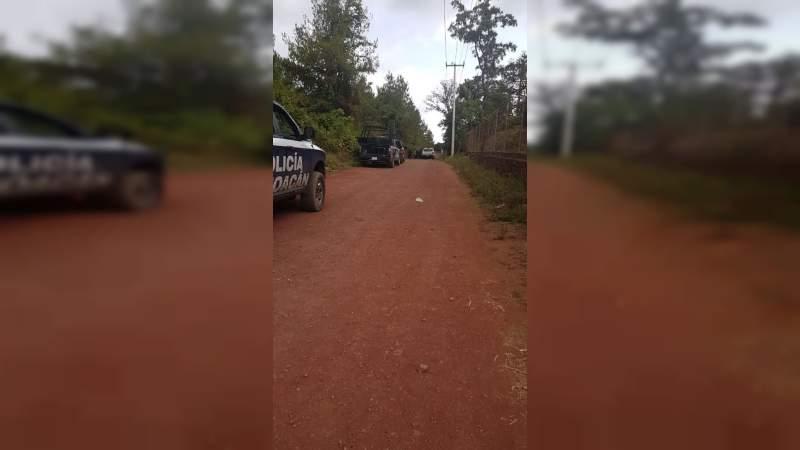 Sobrevive un policía auxiliar a ataque en que 4 murieron en Salvador Escalante, Michoacán