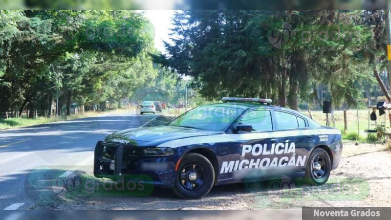 Refuerza SSP Michoacán vigilancia en Salvador Escalante