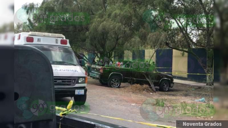 Balean y matan a conductor en Juventino Rosas, Guanajuato