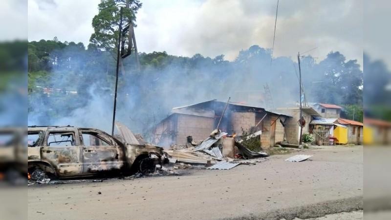 Mueren cinco en enfrentamiento en Leonardo Bravo, Guerrero