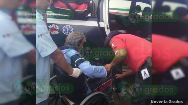Anciano extraviado es localizado en Zitácuaro, Michoacán