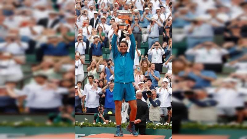 Rafael Nadal conquistó su onceavo Roland Garros