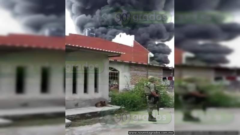 Joven muere calcinado en casa de sus padres en Acámbaro, Guanajuato