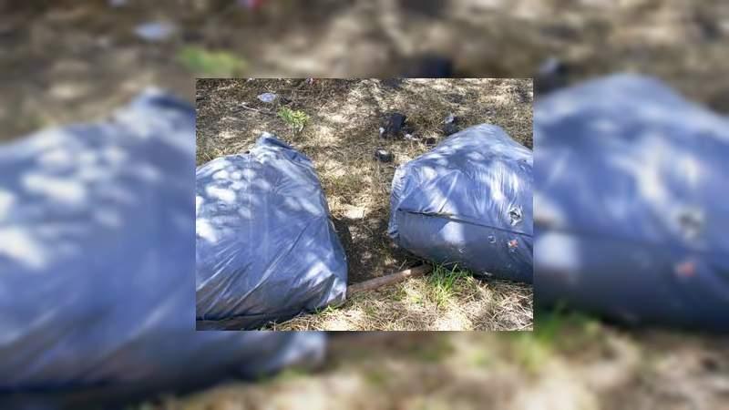Hallan restos humanos sobre la carretera a Santiago Maravatío, en Salvatierra, Guanajuato