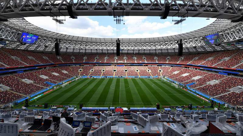 Todo listo para la inauguración de Rusia 2018