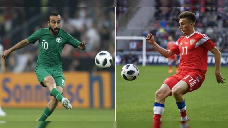 Rusia con debut de ensueño, golea 5-0 a Arabia Saudita