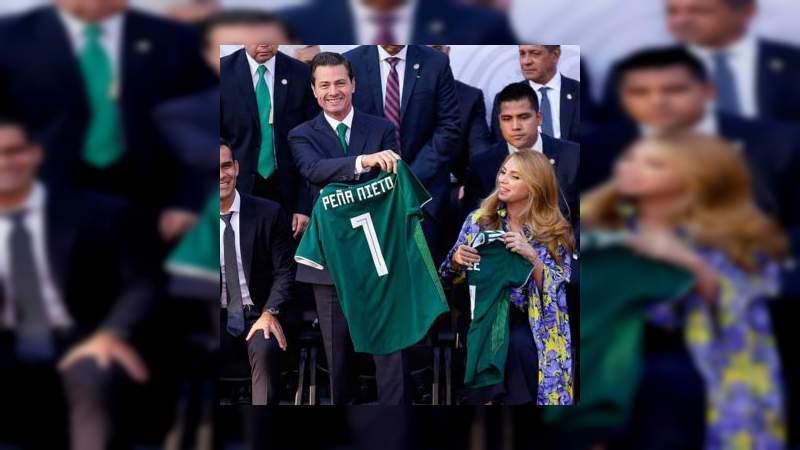Peña Nieto celebró que el Mundial 2026 será en México