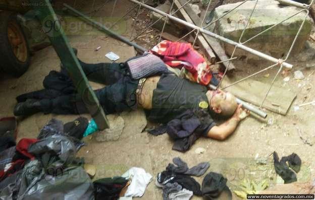 Asesinan al último autodefensa de Arteaga, Michoacán