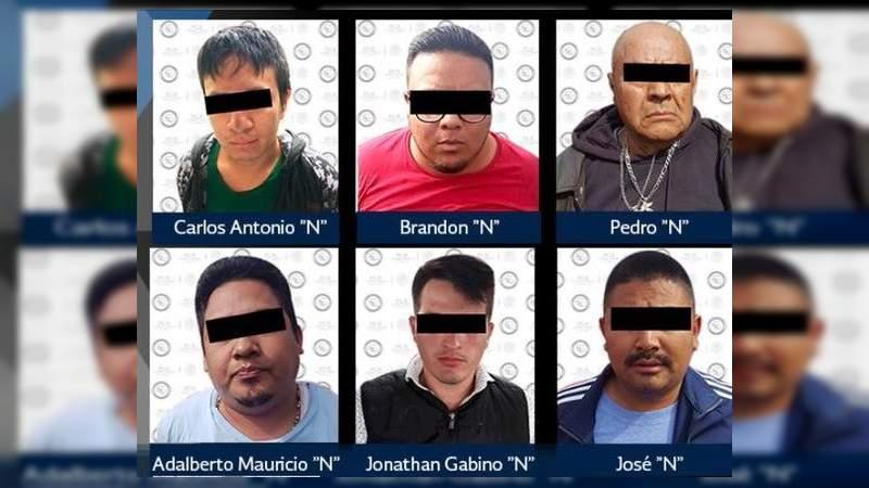 Capturan a 28 en operativos contra el secuestro en Edomex, Morelos y Ciudad de México