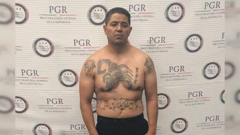 Líder de Barrio Azteca detenido en Uruapan, a punto de ser extraditado