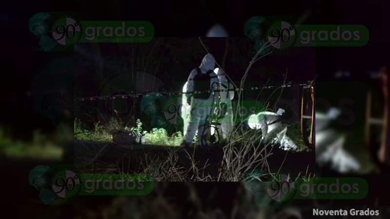 Asesinan a balazos a un individuo Apatzingán, Michoacán