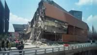 Se derrumba Plaza Artz en la Ciudad de México