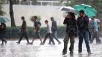 Se mantiene pronóstico de lluvias en toda la República Mexicana