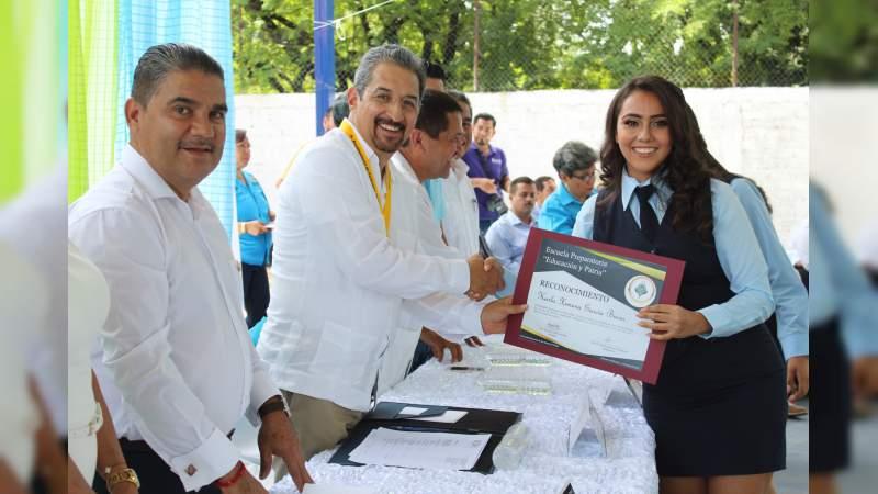 Educación, trabajo y familia, los grandes principios para alcanzar el éxito: MSG