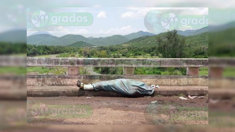 Identifican cadáver de asesinado en Apatzingán; era albañil