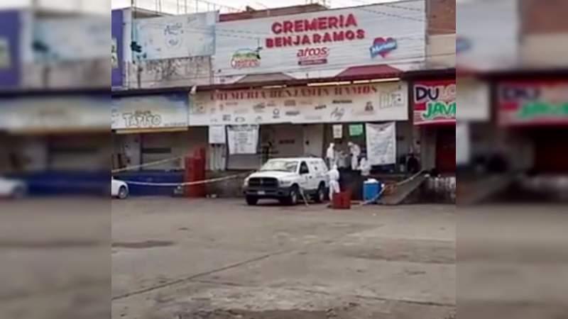 Asesinan a vendedor de tamales en la Central de Abasto de Morelia
