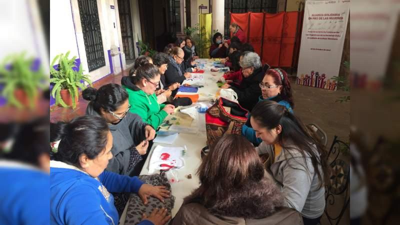 Instituto de la Mujer Moreliana continúa trabajando por la equidad de género