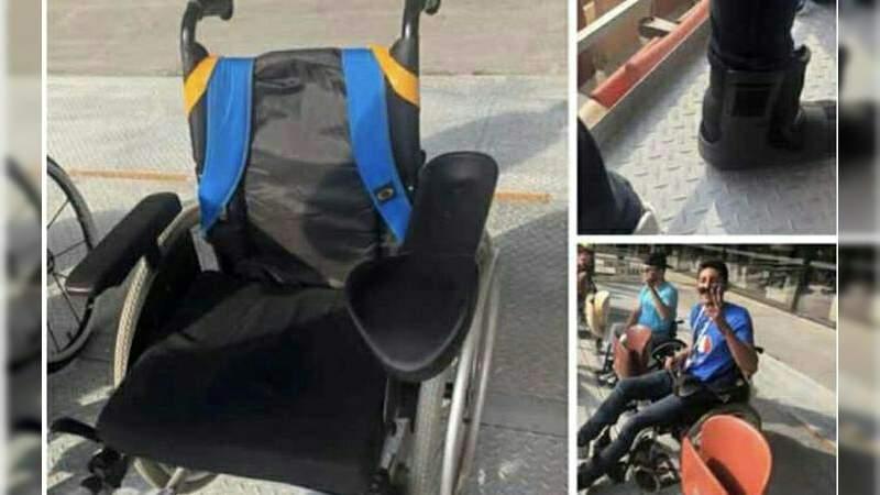 Mexicano fingió ser discapacitado para entrar a la Final del Mundial