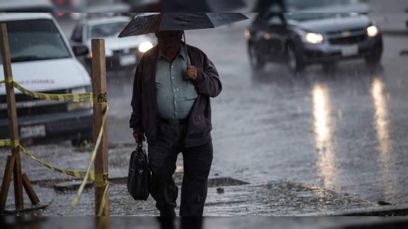 Canal de baja presión y onda tropical 16 ocasionarán lluvias en todo el país