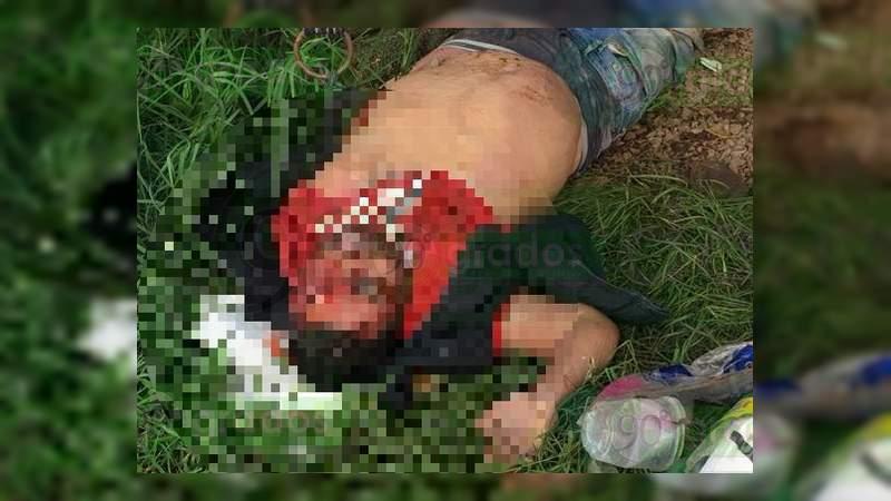 Asesinan a campesino en Tangancícuaro, Michoacán