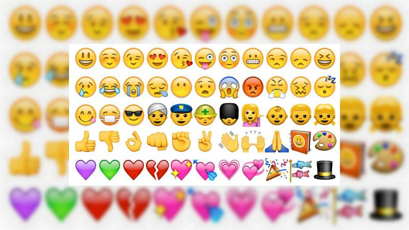Hoy 17 de julio es del Día del Emoji